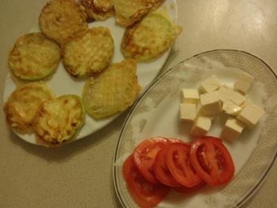 кабачки с сыром в кляре жареные