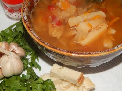 Борщ украинский – рецепт в мультиварке