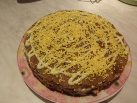 печеночный торт из свиной печени