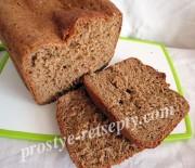 Хлеб «Заварной» с солодом и  ржаной мукой в хлебопечке