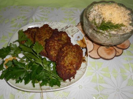 Котлеты из чечевицы —  экономно, полезно и сытно