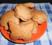 Печенье на трех видах муки с кунжутом