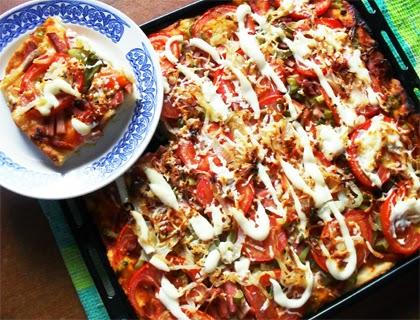 макароны с колбасой в духовке фото рецепт