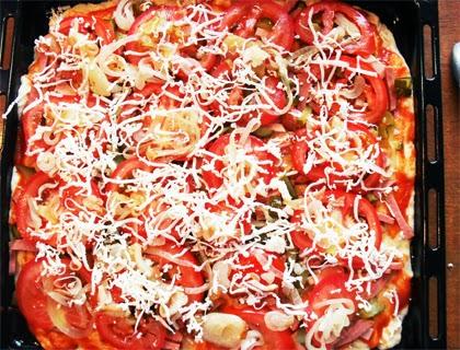 простая пицца