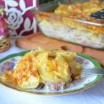 запеканка из картошки и мяса