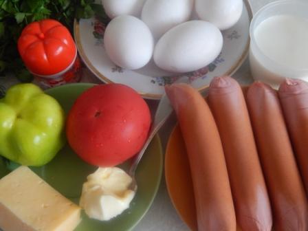 продукты для омлета