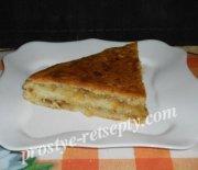 Вкусный и сочный луковый пирог