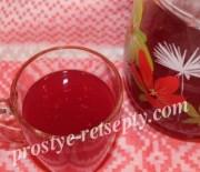 Кисель из замороженных ягод смородины