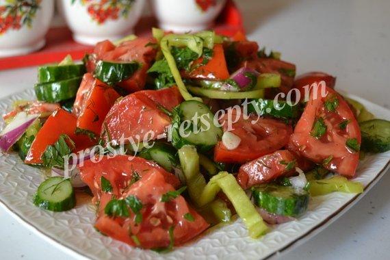 самые простые салаты