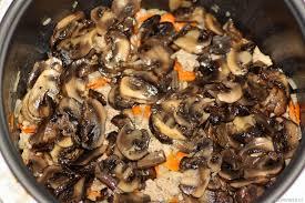 гречка с грибами