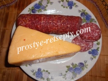 колбаса и сыр