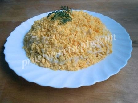 салат курица ананас