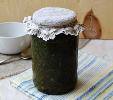 Щавель на зиму для «зелёного» супа и борща