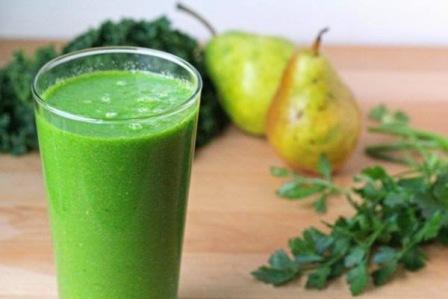 зеленый смузи рецепт