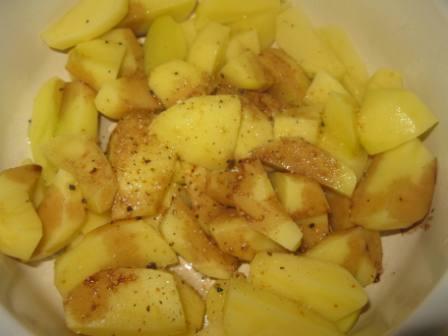 приправить картошку