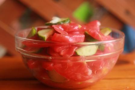 салат помидоры огурцы