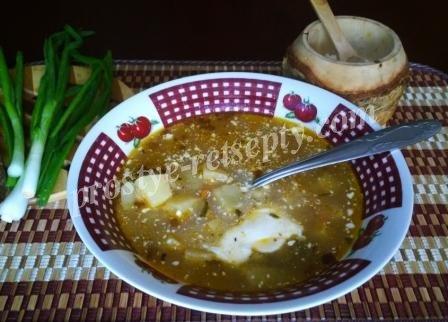 суп с горохом рецепт