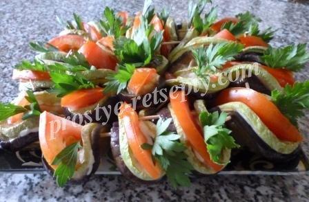 рецепты салатов из баклажанов с майонезом