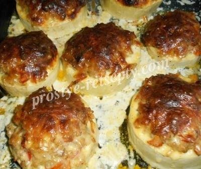кабачки в духовке пп рецепт с фото пошагово в