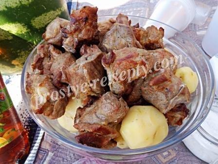 Сочный шашлык из свиной шеи и лучший маринад!