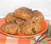 Домашнее овсяное печенье с изюмом