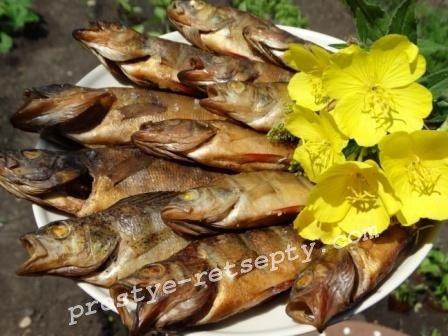 рыба горячего копчения в домашних условиях