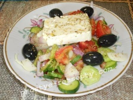салат греческий кассический