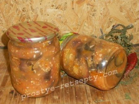 салат из баклажан тещин язык