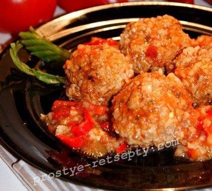 приготовление тефтелей с рисом пошаговый рецепт с фото