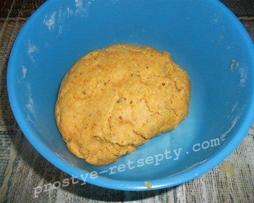 тыквенное песочное тесто
