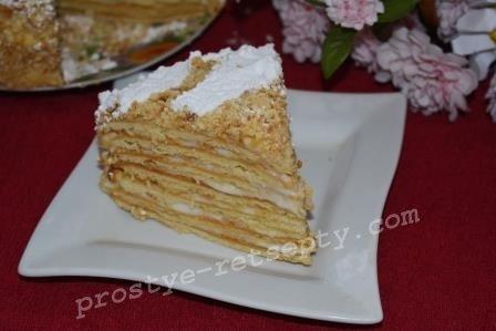 Домашние рецепты тортов со сметанным кремом
