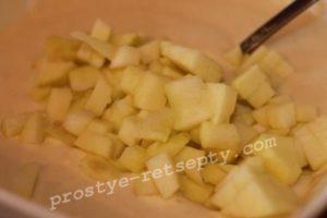 добавить яблоко