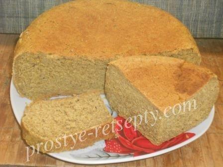 Хлеб в мультиварке — полезный и вкусный