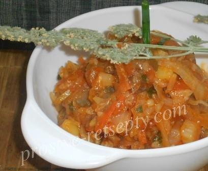 Солянка с капустой, картошкой и рисом