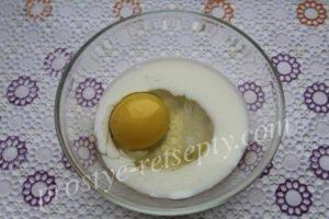 яйцо и молоко