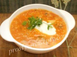 Суп с капустой квашеной рецепт с пошагово в