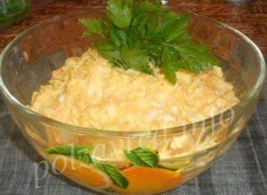 морковка сыр майонез чеснок