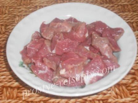 Бефстроганов из говядины с подливкой: рецепт с фото пошагово
