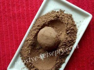 обвалять в какао