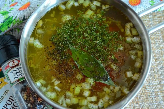 Суп с черешковым сельдереем для похудения