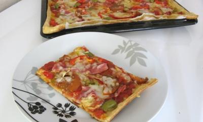 рецепт пиццы из готового теста