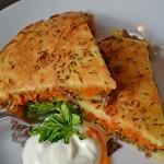 пирог картофельный с грибами рецепт с пошаговыми фото
