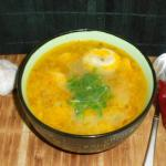 суп с пельменями с картошкой