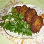 вегетарианские котлеты из зеленой чечевицы