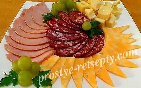 сыр колбаса
