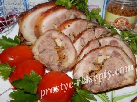рулька свиная в фольге в духовке