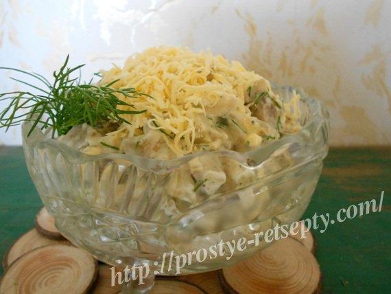 салат из бакдажан