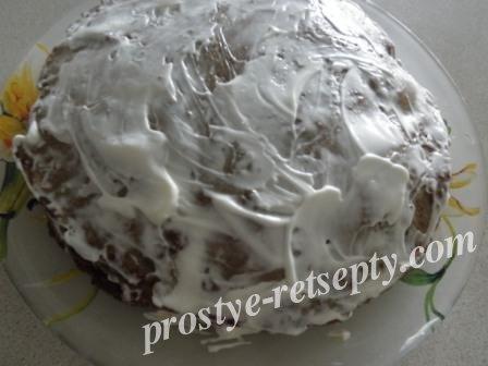 торт из печенки