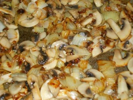 обжарить грибы