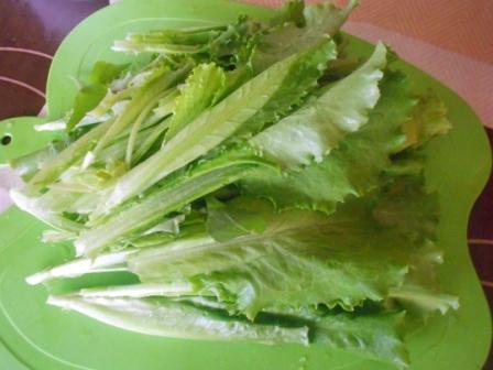 лист салата